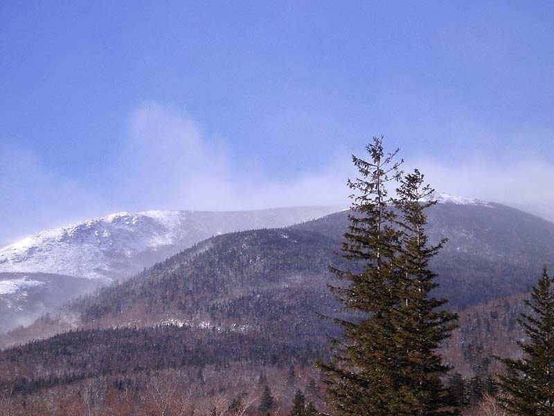 Clark University Outing Club: White Mountains cross ...